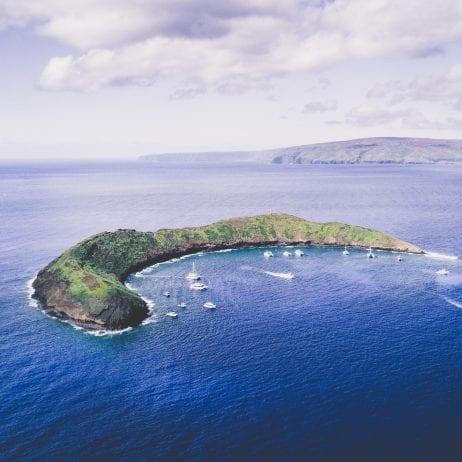Molokini crater in Maui 368