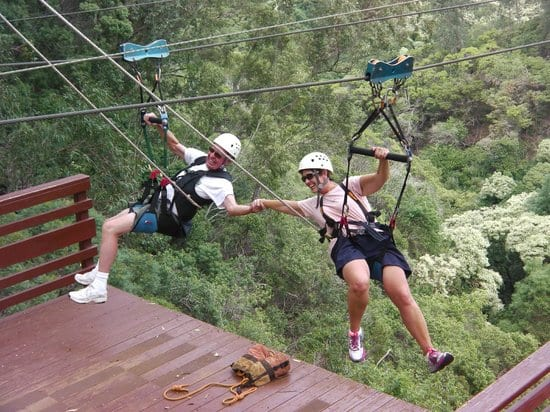 Piiholo Ranch Zipline – 4 Line Course