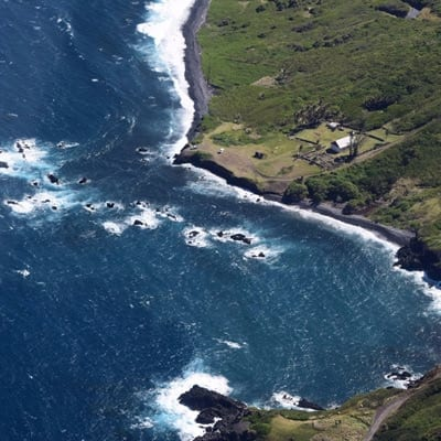 Aerial view of cliffs 79
