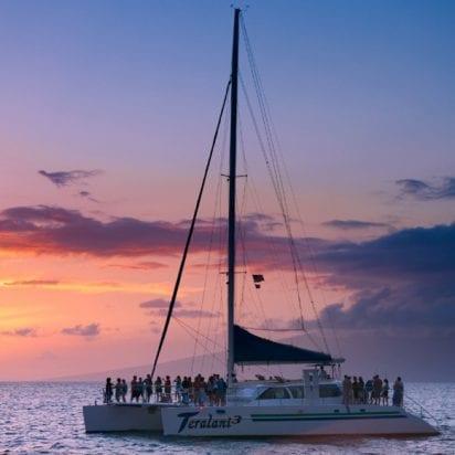 Teralani ocean sunset sail 231