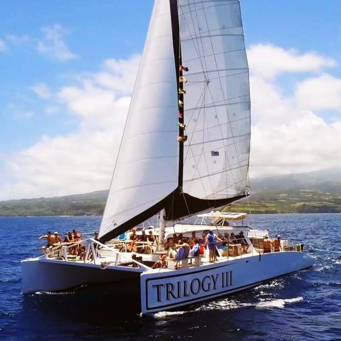 Trilogy – Discover Kaanapali Snorkel Sail