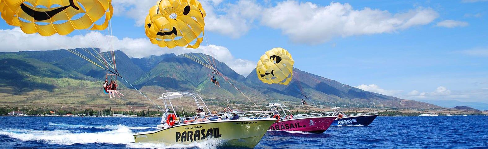 West Maui Parasail
