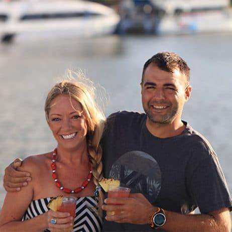Calypso Maui - Maalaea Sunset Dinner Cruise (Smiling Couple)