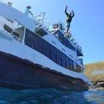 Jump off platform Calypso 36