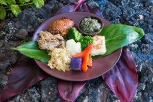 Maui Luau Food