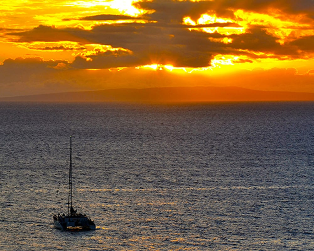 Trilogy Sunset Maui Hawaii - 2138
