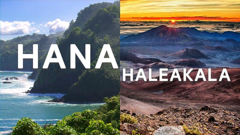 Hana and Haleakala