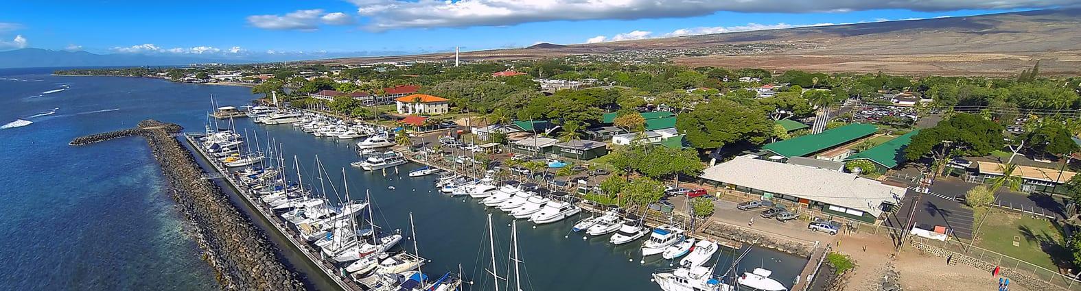 Lahaina Harbor Docks - 2212