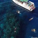 Kaanapali-Ocean-Adventures - Private-Charters (Snorkeling drone shot)