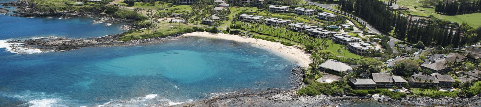 Beach Drone shot Maui 1982
