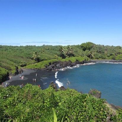 Aloha Hawaii Tours – Deluxe Road to Hana Tour (Black Sand Beach)