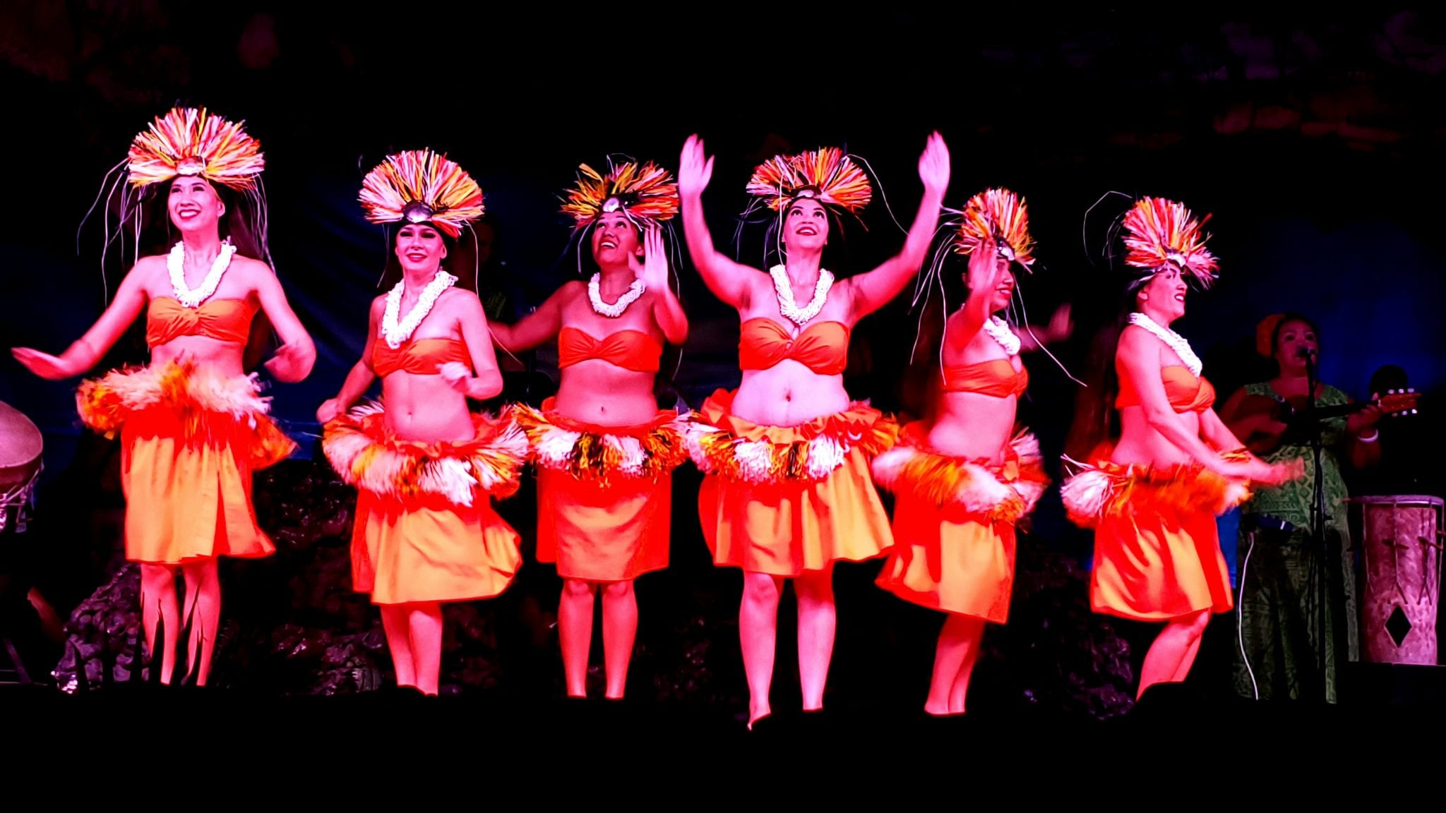 Hula Girls - Drums of the Pacific