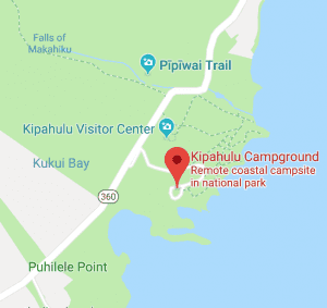 kipahulu campground directions
