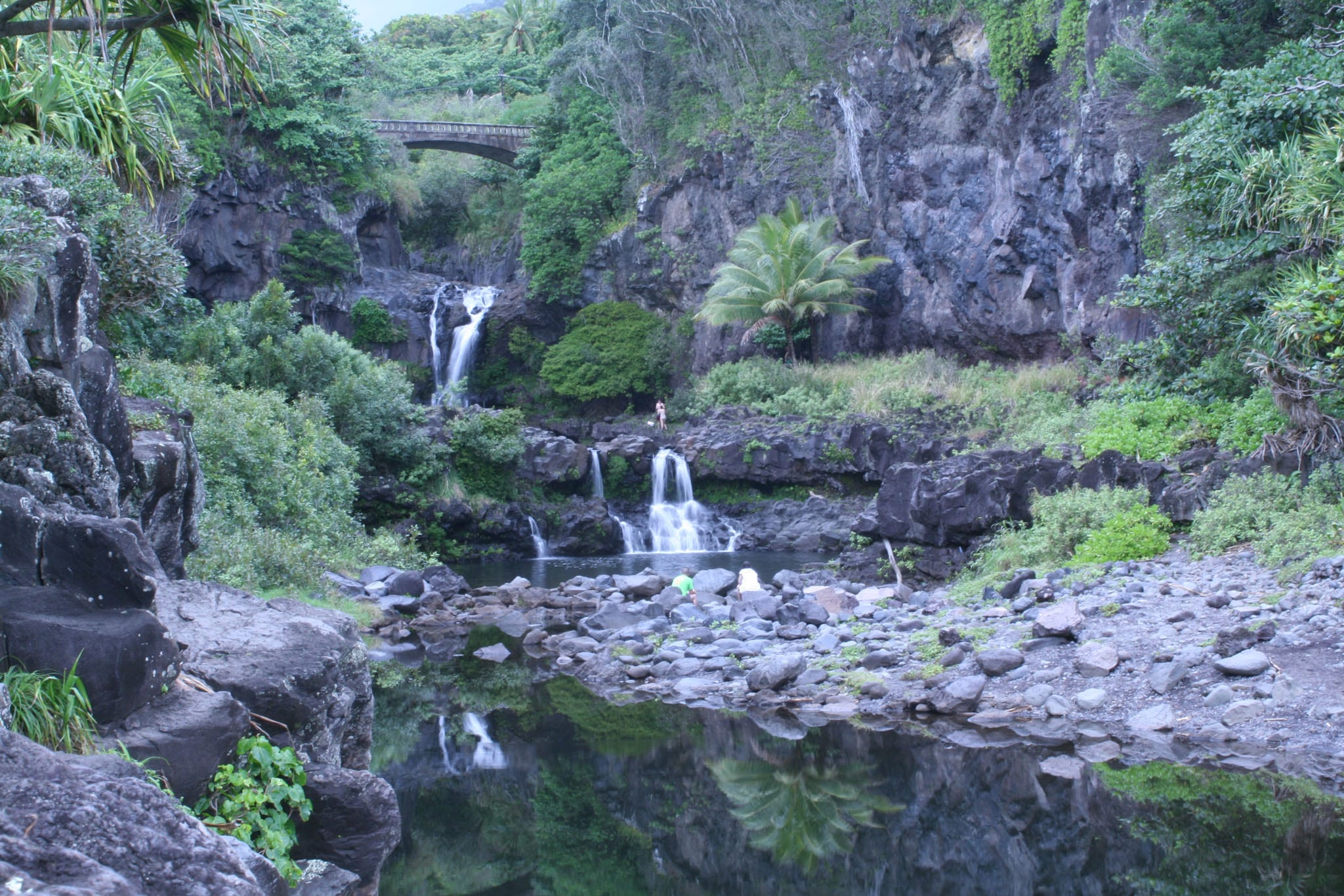 Seven Sacred Pools Photo