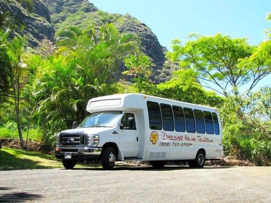 Discover Hawaii Tours Minibus Photo