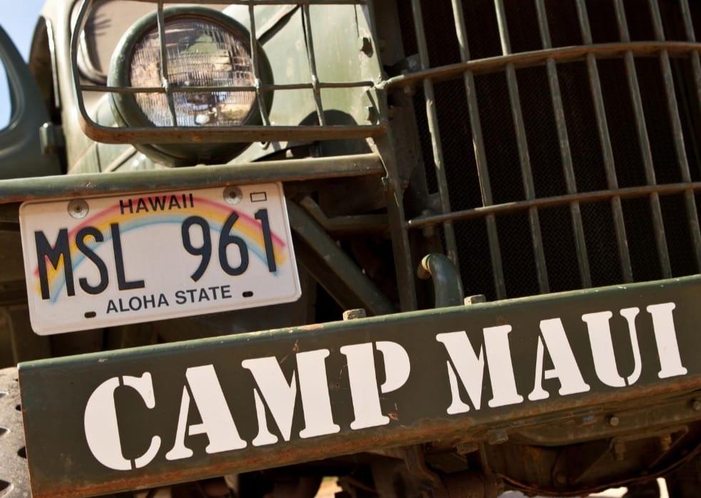 Northshore Zipline Camp Maui