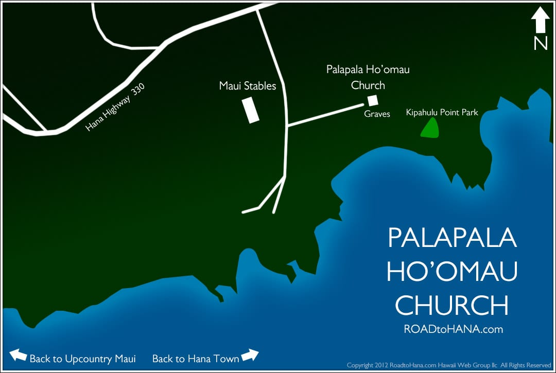map to Palapala Church