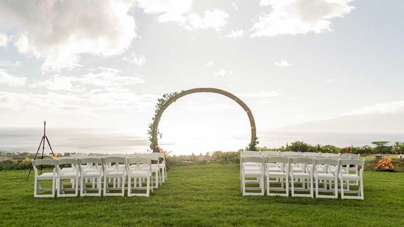 Panoramic Paradise Maui Wedding